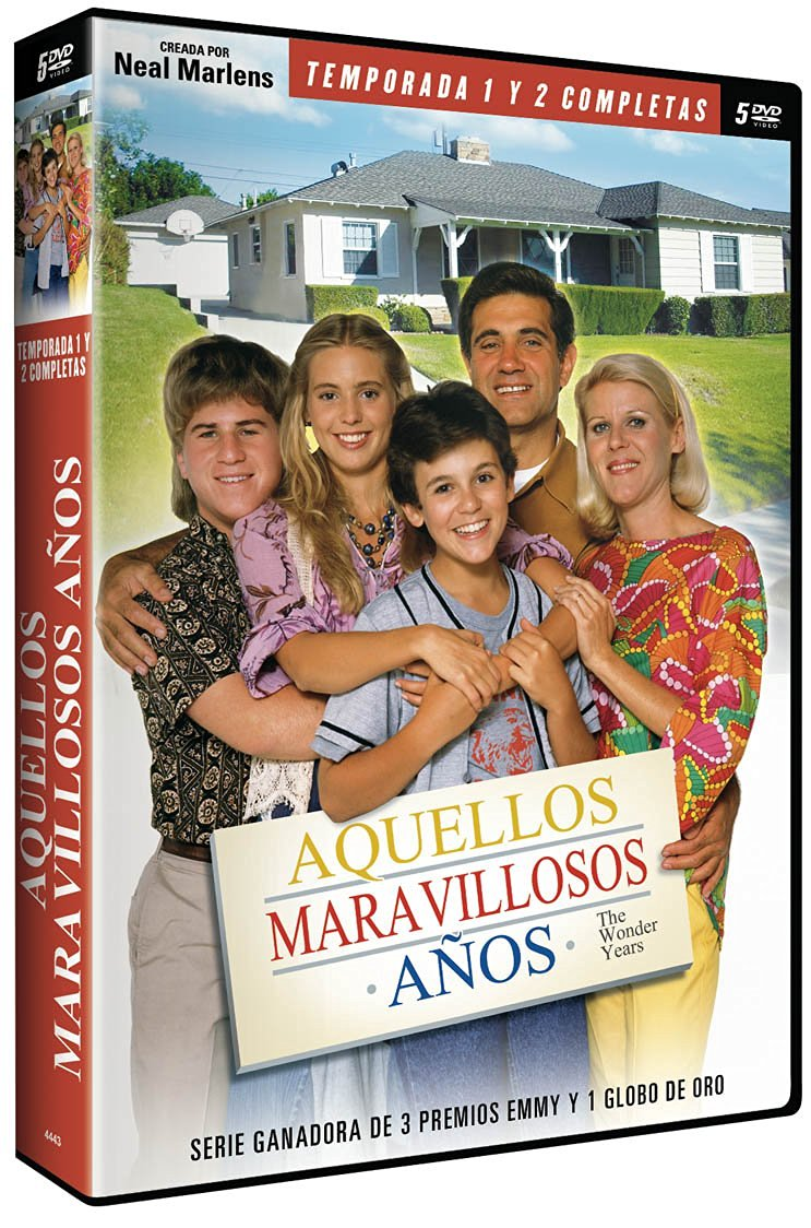 Spanish DVD Edition of The Wonder Years